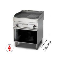 Fry top con mobile elettrici 700