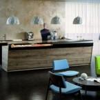 Banchi bar in laminato legno